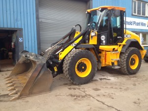 JCB 417 Loading Shovel ready for hire