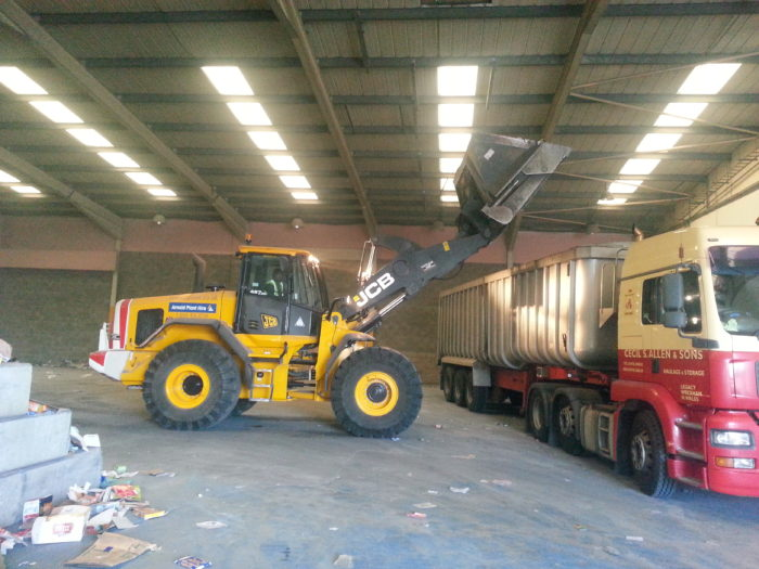 JCB Loading Shovels available for hire