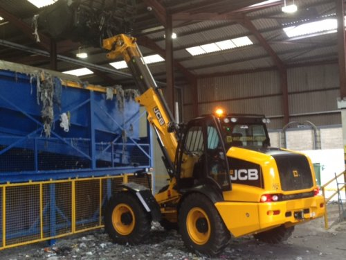 Jcb Tm310 320 Wastemaster Loader